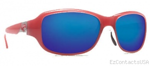 Costa Del Mar Las Olas Sunglasses - Coral White Frame - Costa Del Mar