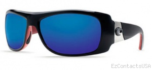Costa Del Mar Bonita Sunglasses Black Coral Frame - Costa Del Mar