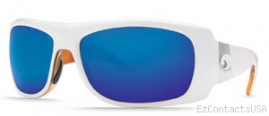 Costa Del Mar Bonita Sunglasses White Tortoise Frame - Costa Del Mar