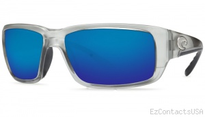 Costa Del Mar Fantail Sunglasses Silver Frame - Costa Del Mar