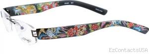 Ed Hardy Lites EHL 801 Eyeglasses - Ed Hardy