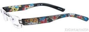 Ed Hardy Lites EHL 802 Eyeglasses - Ed Hardy