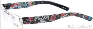 Ed Hardy Lites EHL 803 Eyeglasses - Ed Hardy