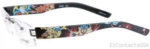 Ed Hardy Lites EHL 804 Eyeglasses - Ed Hardy