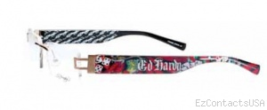 Ed Hardy Lites EHL 807 Eyeglasses - Ed Hardy