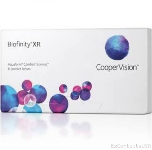 Biofinity XR Contact Lenses - Biofinity