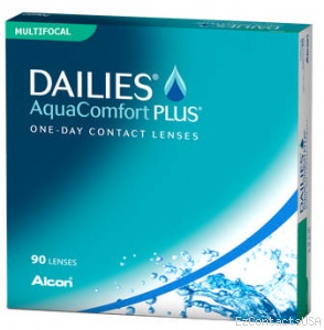 Dailies AquaComfort Plus Multifocal 90 Pk - Dailies