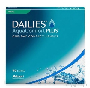 Dailies AquaComfort Plus Toric 90 Pk - Dailies