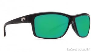 Costa Del Mar Mag Bay Sunglasses Shiny Black Frame - Costa Del Mar