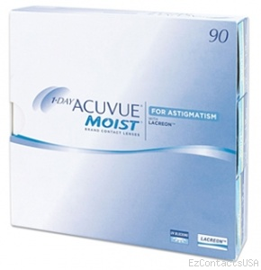 1-Day Acuvue Moist for Astigmatism 90 Pack - Acuvue