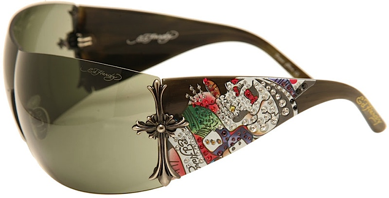 0b73619de84 Ed Hardy EHS 008 Brad Sunglasses