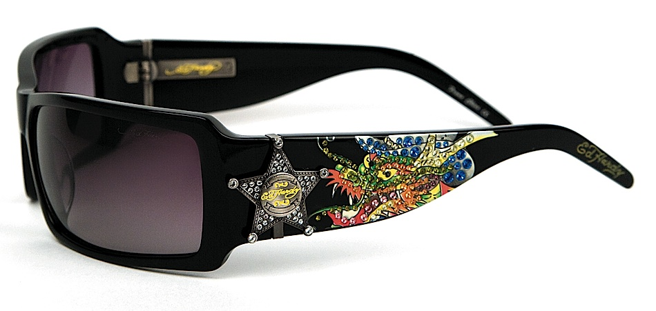 cfaf0ee58dd1 Ed Hardy EHS 021 Dragon Sheriff Sunglasses