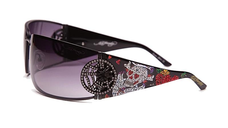 73537abd84ed Ed Hardy EHS 039 Love Kills Slowly 3 Sunglasses