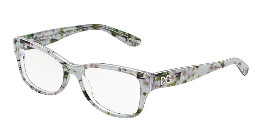 Dolce & Gabbana DG3204 Eyeglasses | DG 3204 Almond Flowers ...