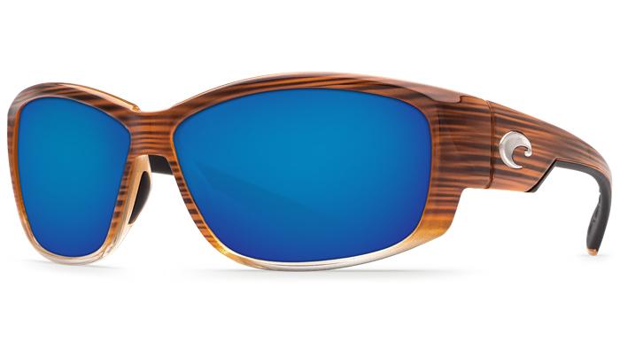 7667ad2e8a91 Costa Del Mar Luke Sunglasses Wood Fade Frame | Authorized Costa Del ...