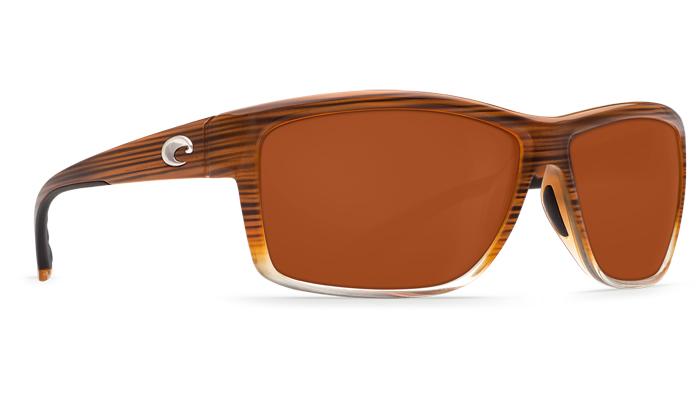 6a638fd998a Costa Del Mar Mag Bay Sunglasses Wood Fade Frame - Costa Del Mar.